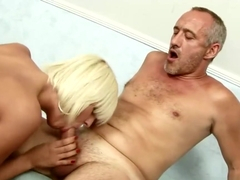 Officer Fucks the Naughty Blonde Holly