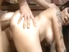 Brittany Lynn gets her asshole brutally rammed