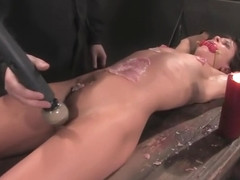 BDSM porn video featuring The Body XXX and Cecilia Vega