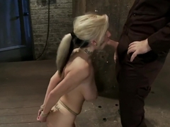 BDSM TEEN NYMPHO ENDURES TRAINING DAY (PART2)