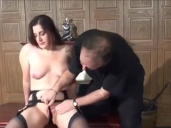 Gorgeous buxomy young tart Callie Calypso gets her ass fucked very hard