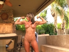 Abby Marie showing her hot body