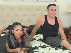 Exotic pornstars Morgan Lee, Romeo Price in Crazy Natural Tits, Tattoos xxx scene