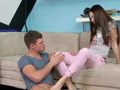 Brunette teenager Stacy Snake enjoys fucking in the better that in other holes