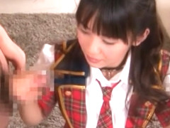 Hikaru Ayuhara Pretty Asian doll is a sexy schoolgirl