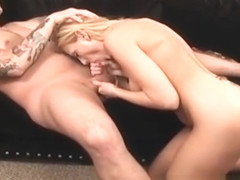 Guy gets his ass licked by a hot MILF