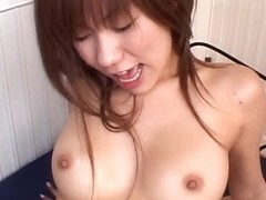 Japanese bunny Yurika Momose in a steamy threesome banging