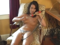 Juicy cherry slut pussy pump