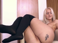 Horny pornstar Ashley Love in Hottest Stockings, Solo Girl porn video