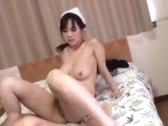Hot Asian milf Sayuki Kanno busty chick gets tit fuck