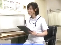 Exotic Japanese girl Kotone Amamiya in Crazy Medical, Threesomes JAV scene
