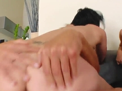 Lucky pal has sex with two beauties at once