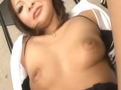 Reina Mizuki Gets Cum In Mouth From Rubbed And Sucked
