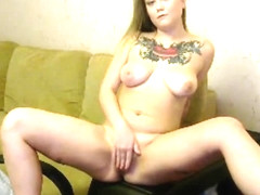 tattooed busty polish cam-whore