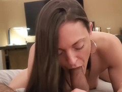 POV Intense Ball Draining Blowjob - Olivia Wilder
