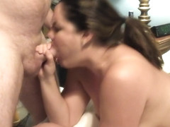 Sexy mommy gets it doggie and cum in her pussy....
