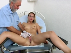 Bianca Ferrero gyno exam and orgasm heartbeat