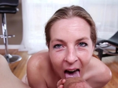Incredible pornstar Crystal Clear in Fabulous Blowjob, POV xxx movie