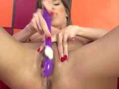 Silvie Deluxe Masturbates and Squirts Endlessly
