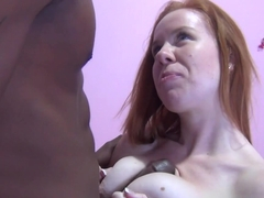 Horny pornstar Kiera Wilde in Best Redhead, Interracial adult movie