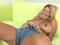 Incredible pornstars Jezebel Jones, Kelly Leigh in Amazing Big Tits, Blonde adult movie