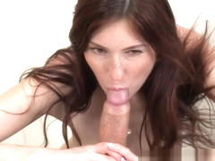 Red head blowjob amateur sucking