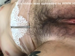 Perfect Very Hairy Girl Gets Armpits Fucked Hairy Bush Cummed On!!