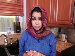 Ada Sanchez in Cream Filled Middle Eastern Cutie