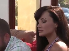Latina sex video featuring Lisa Ann and Sienna West