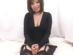 Exotic Japanese slut Anje Hoshi in Crazy Dildos/Toys, Solo Girl JAV clip
