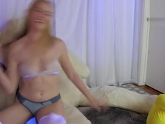 Plush Toy Threesome Cam Show - Bailey Rayne