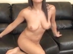 Foxy Adrianna Luna Is On The Couch Toying Her Pussy On Live Cam