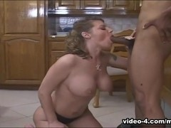 Kayla Quinn big tits mature interracial sex
