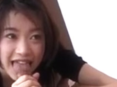 Akari Satsuki Innocent Lovely Asian Girl Enjoys Giving