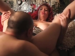 Romantic Christmas oral orgasms with my beautiful MILF friend Kiki Daire!