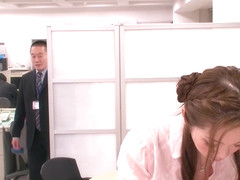 Incredible Japanese chick Asami Ogawa in Hottest secretary, couple JAV movie