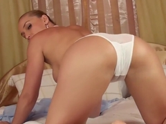 Mommy and the first anal play with her son.
