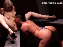 Hot Lady wrestlers fuck each other in the locker room