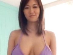 Exotic Japanese slut Sayuki Kanno in Fabulous Blowjob, Lingerie JAV movie