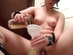 Piss Pig - Enema self-humiliation
