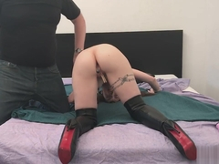 Cathy Crown Belgium Porn Star - Tickle Bondage in Doggy style