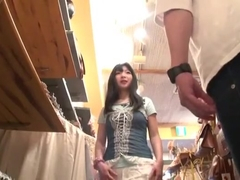 Crazy Japanese chick Chika Arimura in Amazing JAV movie