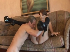 Skylar Morgan Gets An Old Fashioned Fuck And Creampie