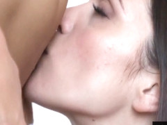 Small Breasted Lesbians Take Turns Licking Each Others Pussies With Talia Mint, Thalia Mint And Al.
