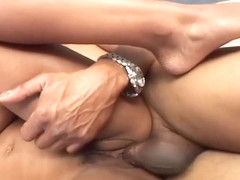 Balls Deep Pussy Plowing On An Ebony Amateur