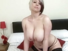 Lily Pink Plays With Big Boobies