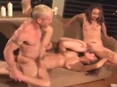 Amazing sex clip Group Sex best like in your dreams