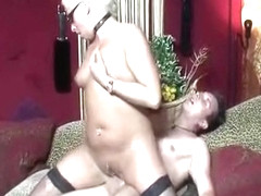 Mature Amsterdam hooker gets pierced twat nailed heavily