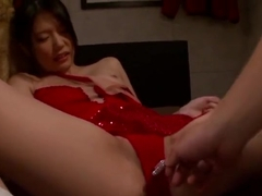 Bonny asian Nanami Endo making her fetish dreams come true