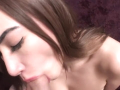 Fucked her after a Blowjob and a neighbor knocked on the door - NikiRicky